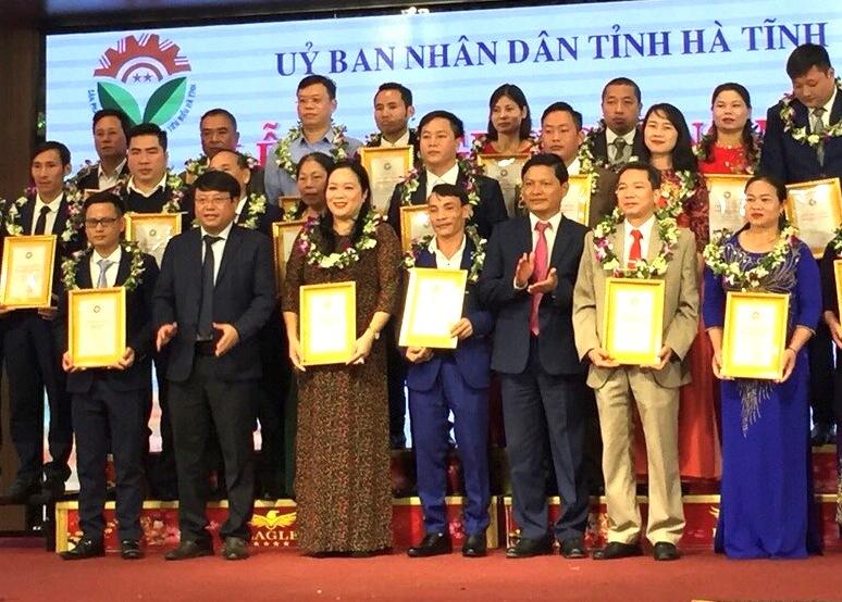 TX Hồng Lĩnh có 3 sản phẩm được vinh danh sản phẩm công nghiệp nông thôn tiêu biểu cấp tỉnh năm 2019