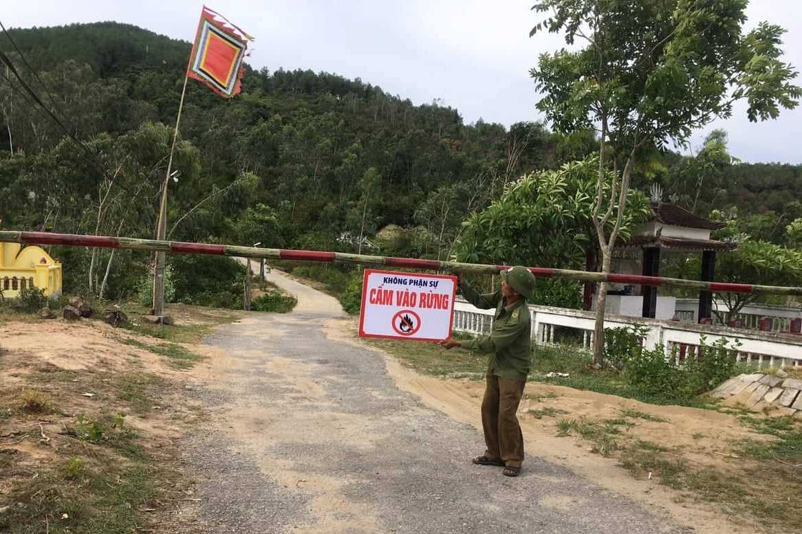 Thị xã Hồng Lĩnh triển khai các biện pháp cấp bách phòng chống cháy rừng